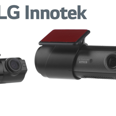 LG - LGD323 2-CHAN FR0NT & REAR 720P HD DASHCAM