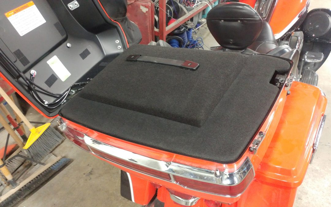 Subwoofer for Harley Davidson motorcycles