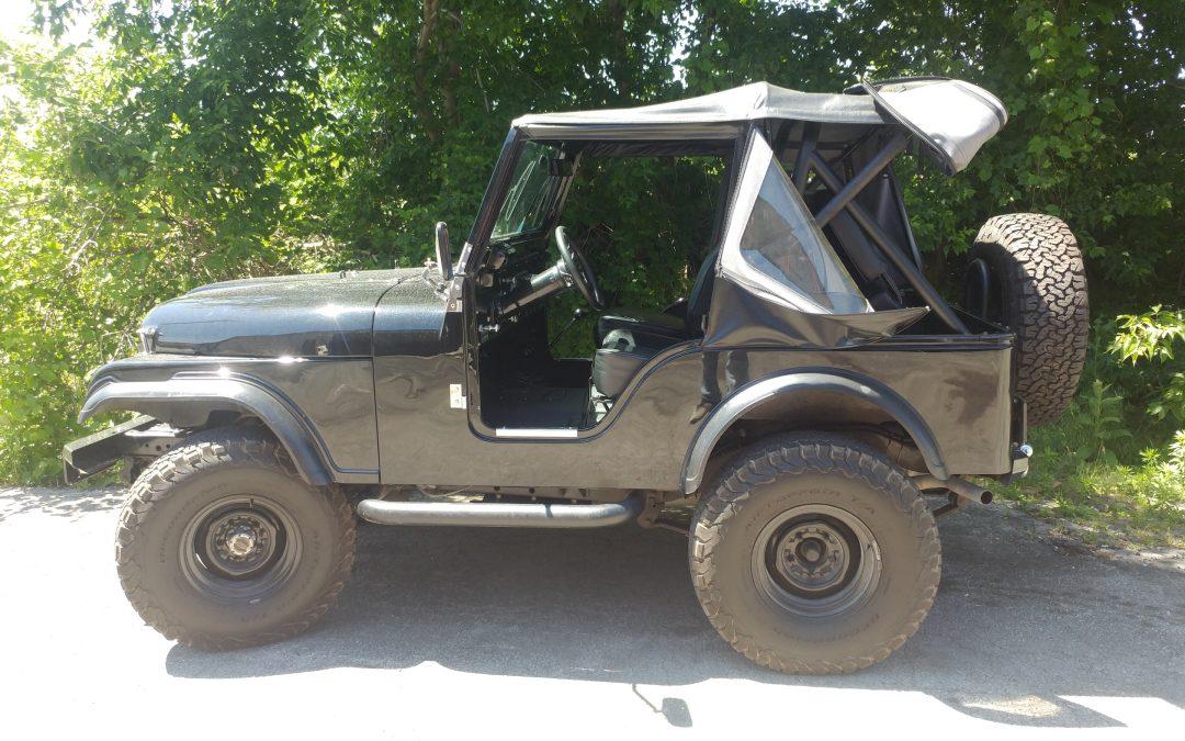 """Jeep CJ5 `74 """"Black on Black"""""""