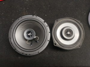 Harley-Davidson audio system replacement