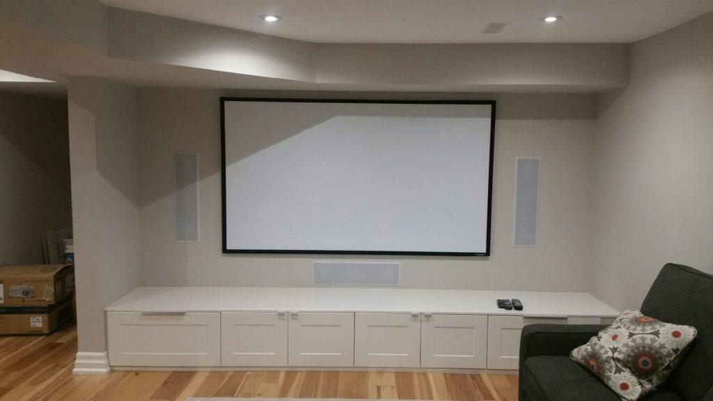 Home audio video installations