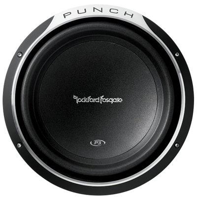 """ROCKFORD FOSGATE - P3D4-12 12"""" Punch P3 4-Ohm DVC Subwoofer Oakville"""