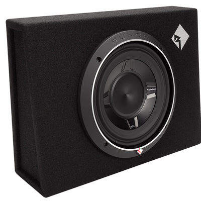 "ROCKFORD FOSGATE - P3S-1X10 Single P3 10"" Shallow Loaded Enclosure Oakville"