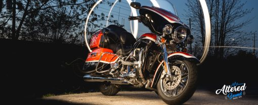 Harley Davidson audio system upgrade