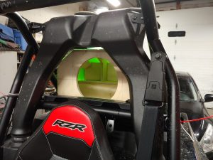 Polaris RZR audio system