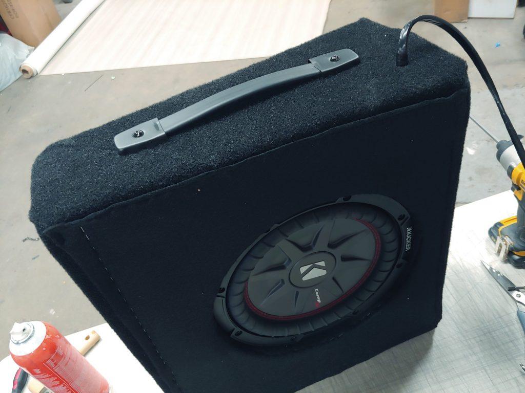 Harley-Davidson Audio system subwoofer