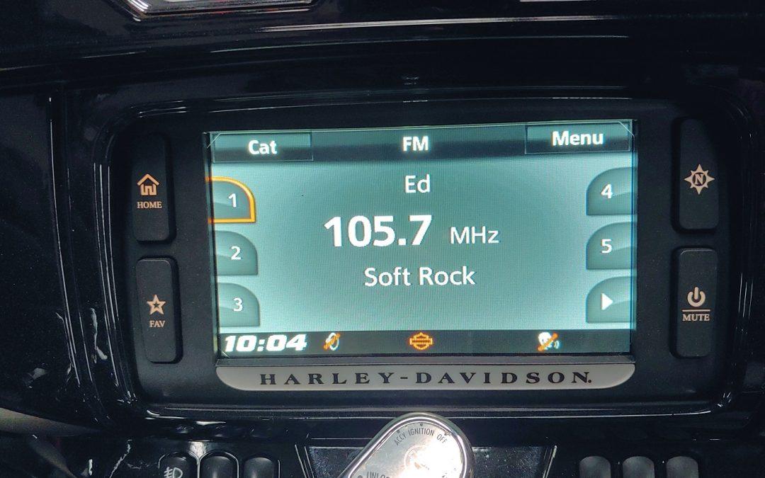 2014+ Harley-Davidson Radio Flash