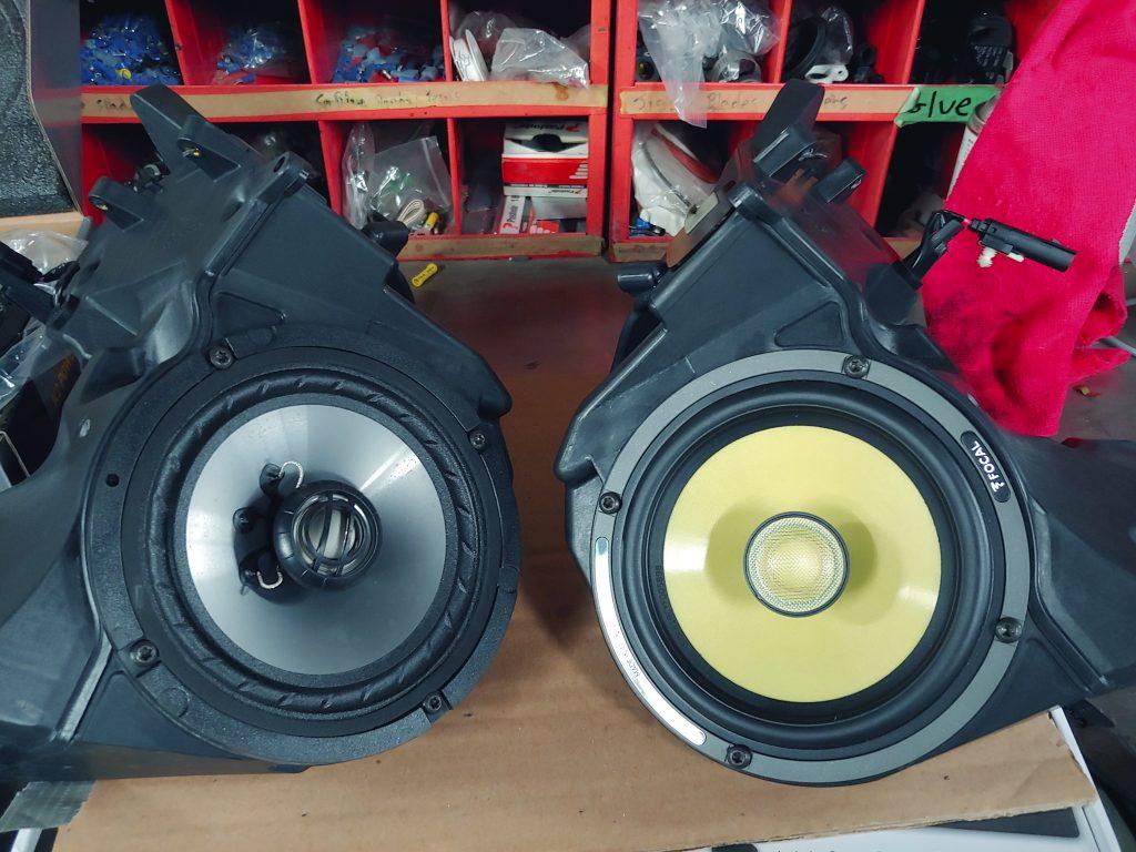 Harley-Davidson sound system upgrade Ontario
