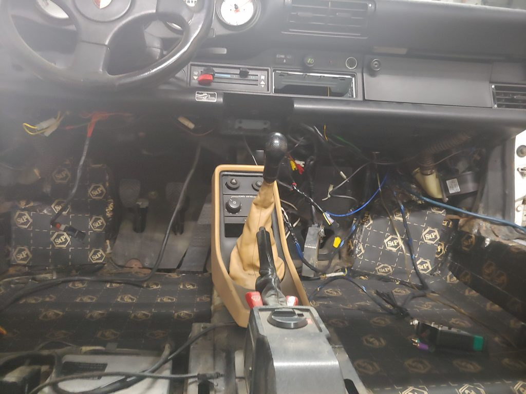 Porsche 911 sound deadening