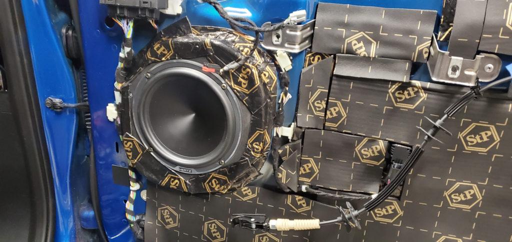 Ford F150 speaker install