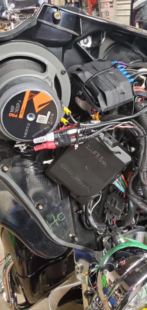 Harley-Davidson Hertz speakers