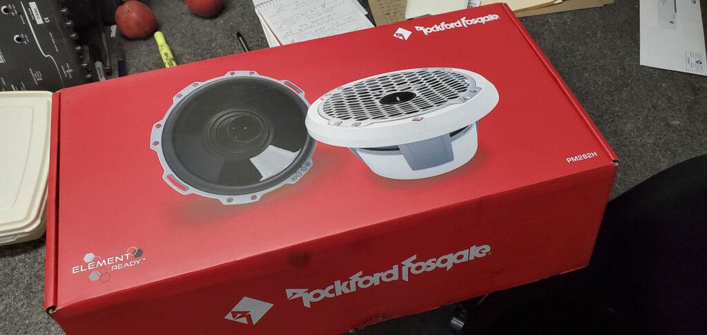 """Rockford Fosgate 8"""" coaxial speakers"""